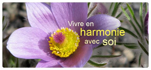 Vivre en harmonie avec soi